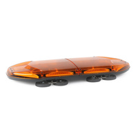 Warrior 30in Amber LED Warning Light Bar 96W