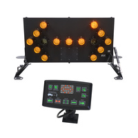 LED Traffic Arrow Board B Class Roof Mount and Controller