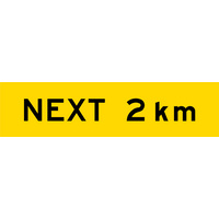 Next 2 km (1200x300x6mm) Corflute