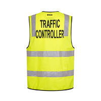 Day/Night Traffic Controller Lime Vest