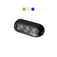 H3 9W LED Warning Light Head
