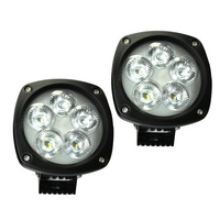 50W 4.3in LED Utility work Light [2 Pack]