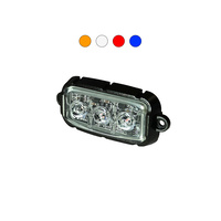 F3 9W Mini LED Warning Light Head