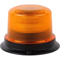 U1-24 72W Amber LED Warning Light Beacon Amber Lens