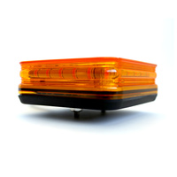 24W Amber Mini Compact LED Square Beacon