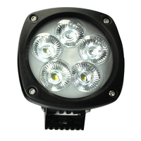 50W 4.3in LED Utility work Light Flood Lens [2 Pack]