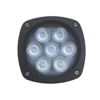 4.3in 35W Round LED Work Light Flood Beam