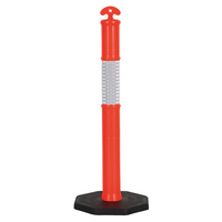 6KG T Top Traffic Bollard and Base (25 Pack)