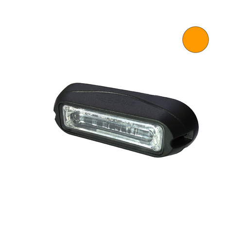 HL6 18W Amber LED Warnign Light Head