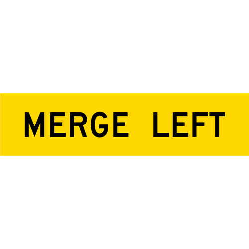 Merge Left (1200x300x6mm) Corflute