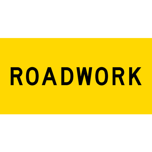 Roadwork (1200x600x6mm) Corflute