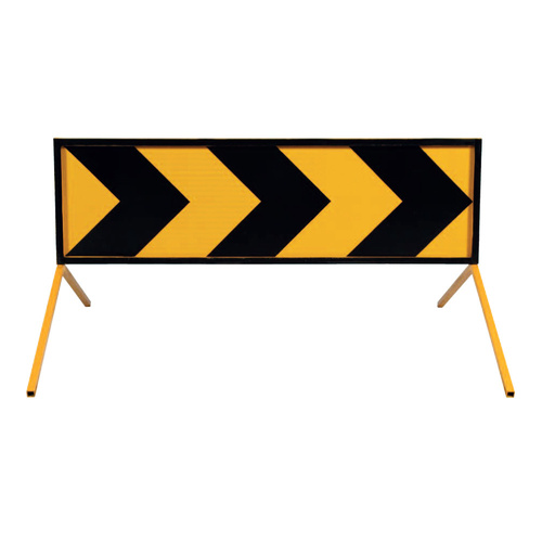 LSM Chevron Boxed Edge Traffic Sign