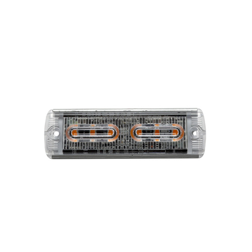 6W LED Ultra Slim Dimmable Amber Warning Light Head
